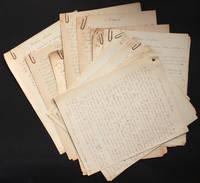 """image of [Manuscrits autographes et tapuscrits inédits] Contes et autres textes courts : """"Anecdotes vraies"""", """"De plus en plus vrai"""", """"Tout aussi vrai qu'autre chose"""""""