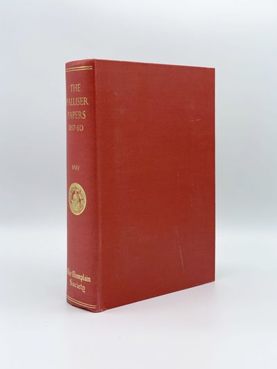 Toronto: The Champlain Society, 1968. A fine copy with a few small scuffs on cover. 8vo. Folding map...