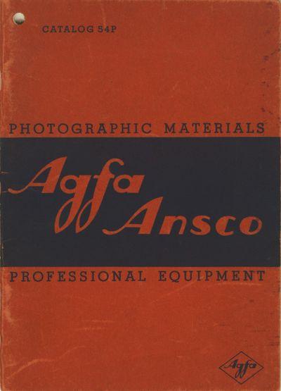 Binghamton, NY: Agfa Ansco Corporation, 1936. Revised to January 1, 1936. Small 8vo., pp., illustrat...