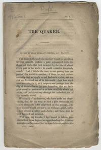 [drop title] The Quaker.