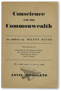 Conscience and the Commonwealth