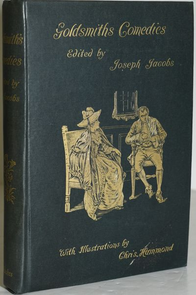 New York: Frederick A. Stokes Company. Hard Cover. Very Good binding. Oliver Goldsmith's Comedies, e...