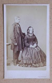 Carte De Visite Photograph: Portrait of a Husband & Wife. by R. Dighton - from N. G. Lawrie Books. (SKU: 29250)