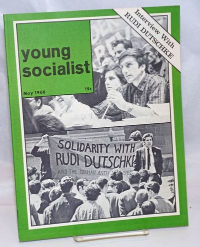 New York: Young Socialist Alliance, 1968. 23p, wraps, 8.25x11 inches, illus., lightly worn else very...