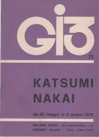 Mostra personale di Katsumi Nakai