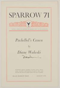 Pachelbel's Canon (Signed First Edition)