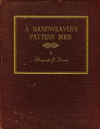 A Handweaver's Pattern Book for Four Harness Looms