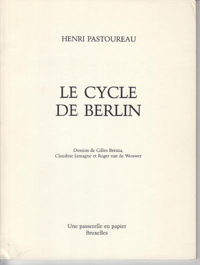 Brussels: UNE Passerelle En Papier. First Edition; First Printing. Softcover. Wraps, a fine copy but...