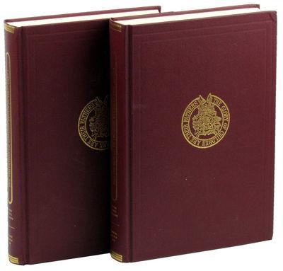 London: Harleian Society, 2004. Hardcover. Very good. xlviii, 351pp; 352-766pp. Two voluumes, both v...