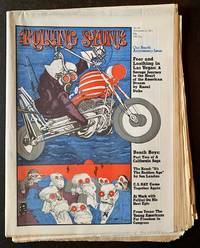 "Rolling Stone Issues #95 and #96-- November 11th and November 25th, 1971: The Original Appearance --and Complete Text-- of ""Fear and Loathing in Las Vegas"""