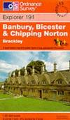 image of Banbury, Bicester and Chipping Norton (Explorer Maps)