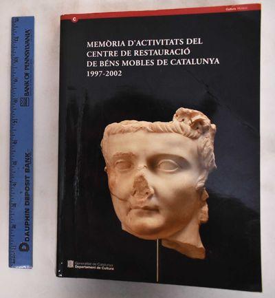 Barcelona, Spain: Generalitat De Catalunya Departament de Cultura, 2004. Softcover. Good+. crease do...