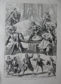 Pantomimes at the London Theatres: Haymarkey, Drury Lane & Crystal Palace. by Engraving - 1872 - from N. G. Lawrie Books. (SKU: 47194)