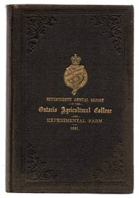 Seventeenth Annual Report of the Ontario Agricultural College and Experimental Farm 1891