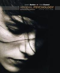 image of Abnormal Psychology: An Integrative Approach