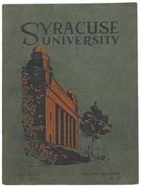 Syracuse University, Bulletin of Vol. XXVIII, No 32 [Volume 27 Number Thirty-Two]