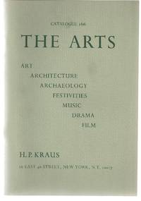 Catalogue 166: The Arts; Art, Architecture, Archaeology, Festivities, Music, Drama, Film