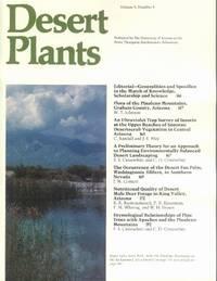 Desert Plants: Volume 8, Number 4, 1988