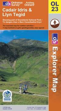 image of Cadair Idris and Bala Lake/Llyn Tegid (Explorer Maps)