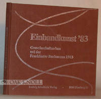 Hamburg: Ludwig Schultheis Verlag, 1983. cloth. Bookbinding. square 8vo. cloth. 91+(1) pages. The be...