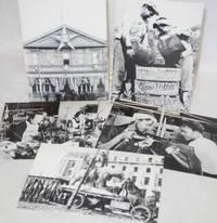 [Set of six labor-themed postcards]