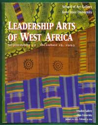 Leadership Arts of West Africa. September 13 - October 15, 1993