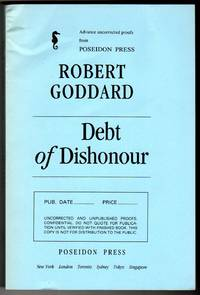 Debt of Dishonour [ADVANCE UNCORRECTED PROOFS]