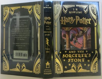 U.S.A.: Scholastic, 2000. Special Edition. Hardcover. Fine. FIRST LIMITED COLLECTOR'S EDITION LEATHE...