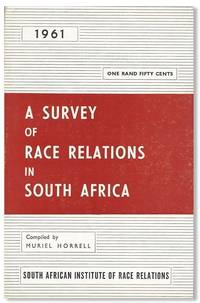 A Survey of Race Relations in South Africa, 1961