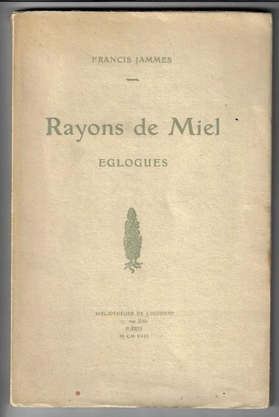 Paris: Bibliothequede l'Occident, 1908. First Edition. Softcover. Very Good. 53 pp, in original wrap...