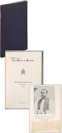 (Milwaukee: The Evening Wisconsin Co.), 1895. Hardcover. Very Good. First edition. Tall octavo. Blue...
