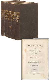Leatherstocking Tales (Volume 1. The Deerslayer: or, The First War-Path; Volume 2. The Pathfinder: or, The Inland Sea; Volume 3. The Last of the Mohicans; Volume 4. The Pioneers, or The Sources of the Susquehanna; Volume 5. The Prairie) by  James Fenimore COOPER - Hardcover - 1849 - from Between the Covers- Rare Books, Inc. ABAA and Biblio.com