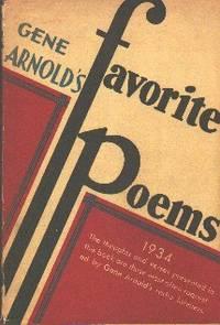 image of Gene Arnold's Favorite Poems 1934
