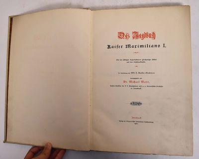 Innsbruck: Verlag der Wagner'schen Univ.-Buchhandlung, 1901. VG but significant soiling to vellum co...