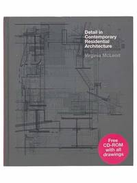 Detail in Contemporary Residential Architecture (CD-ROM Included)
