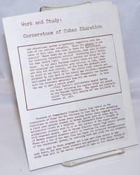 Work and study: cornerstone of Cuban education