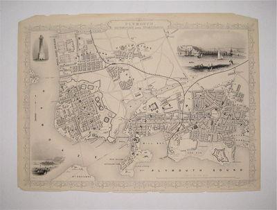 London: Tallis, John, 1851. unbound. Rapkin, J.. Map. Steel engraving. Image measures 9 3/4