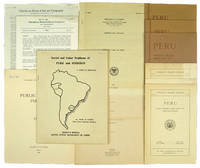 Small Archive of 12 Publications on Peruvian Trade and Finance: 1928-1953