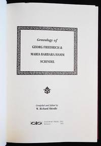 Genealogy of Georg Friedrich & Maria Barbara Hamm Schindel