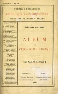 Album de vers et de prose