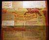 View Image 2 of 4 for 1959 Very Large Poster-sized Menu for Da Meo Patacca Rome Italy Inventory #24823