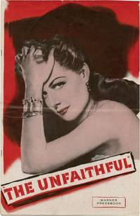 The Unfaithful (Original Film Pressbook)