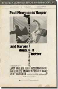 Harper (Original pressbook for the 1966 film) by  Lauren Bacall (starring)  Paul Newman - 1966 - from Royal Books, Inc. and Biblio.com