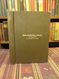 Theological and Semitic Literature: A Bibliographical Supplement.  1898 and 1899.