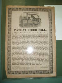 Patent Cider Mill [Broadside]