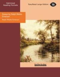 image of Essays by Ralph Waldo Emerson