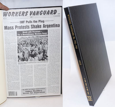 New York: Spartacist Publishing Co, 2003. Hardcover. Various pagination, 11x17 inches, bound volume ...