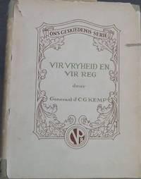 image of Vir Vryheid en vir Reg