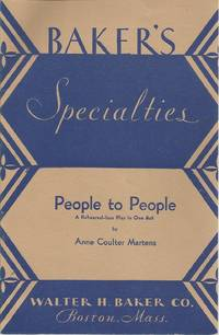People to People: A Re-hearsal-less Play in One Act