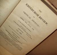 The Edinburgh Review or Critical Journal for April, 1806 - July, 1806